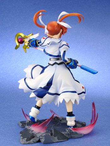 Magical Girl Lyrical Nanoha The Movie 1st Takamachi Nanoha 1/7 PVC figure by Ex resinya!