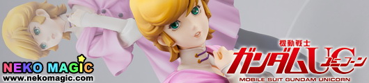 Mobile Suit Gundam Unicorn Audrey Burne 1/8 PVC figure by Alpha Omega