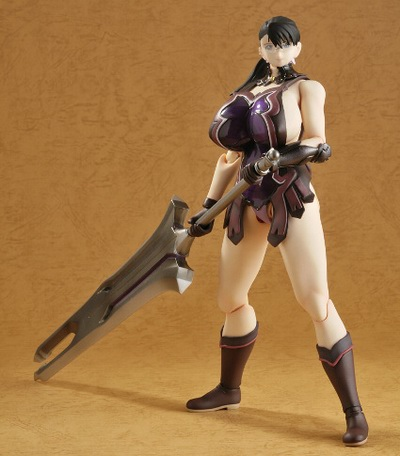 Queen's Blade Weapons Shop Cattleya FullPuni Figure Series No.5 non scale action figure by Evolution Toy