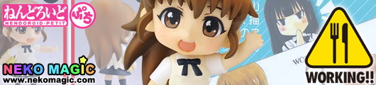 Working!! Taneshima Popura Nendoroid Petit trading figure by Square Enix