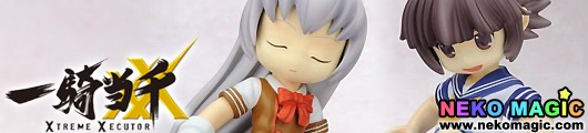 Ikkitousen   SD Figure Chouun Shiryuu, Chouhi Ekitoku Set cold cast GK by UART