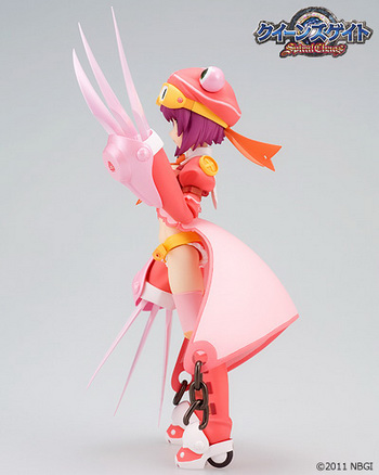 Queen's Gate Spiral Chaos   the Magical Scissors Nail Marron=Macaron figma action figure by Bandai