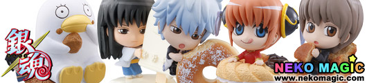Gintama   Petit Chara Land Ginsans Ice Cream and Donuts trading figure by Megahouse