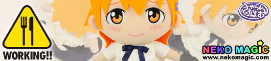 Working!!   Inami Mahiru Welcome to Wagnaria CharanPAO series plush doll by Proovy