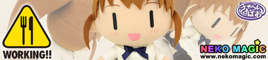 Working!!   Taneshima Popura Welcome to Wagnaria CharanPAO series plush doll by Proovy