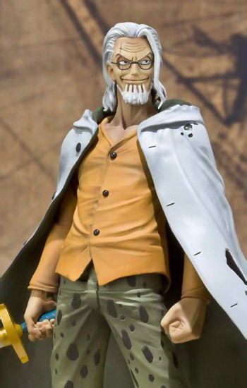 One Piece   Silvers Rayleigh Figuarts Zero non scale PVC figure by Bandai