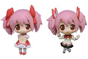 Color Collect Puella Magi Madoka Magica trading figure by MOVIC