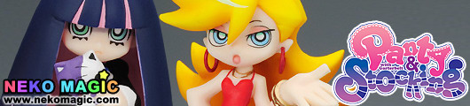 Panty&Stocking with Garterbelt   Twin Pack+ Panty & Stocking with Chuck non scale PVC figure by Phat! company