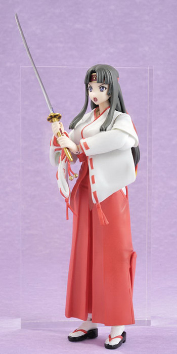 Queen's Blade   Musha Miko Tomoe FullPuni Figure Series No.6 non scale action figure by Evolution Toy