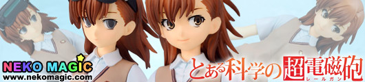 A Certain Scientific Railgun – Misaka Mikoto & Sister Set Standard Edition non scale PVC figure set by Penguin Parade