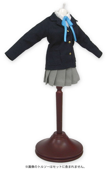 K ON!   Sakuragaoka Girls High School Uniform Mini Costume Set for 1/6 (23cm) Doll by Resinya!