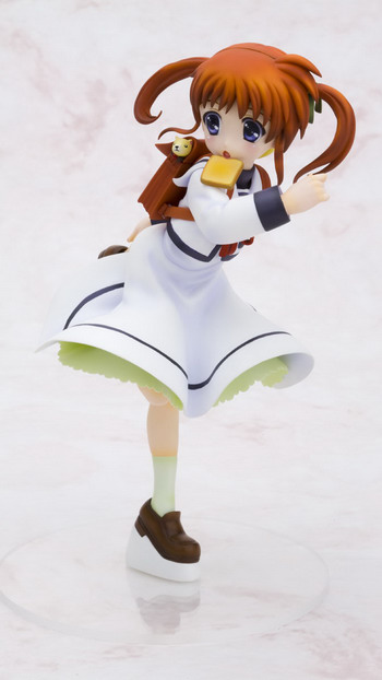 Magical Girl Lyrical Nanoha The Movie 1st – Takamachi Nanoha Uniform 1/8 PVC figure by Kotobukiya