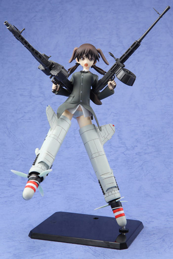 Strike Witches   Gertrud Barkhorn non scale PVC Prize figure by SEGA