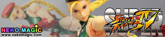 Super Street Fighter IV – Cammy non scale action figure by Square Enix
