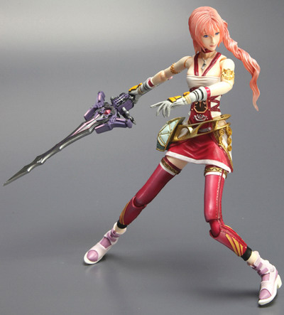 Final Fantasy XIII 2   Lightning non scale action figure by Square Enix