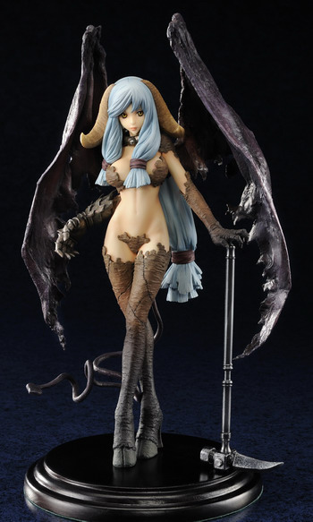 Demon Squeezer   Diabolus Unglate Ungulates Devil non scale PVC figure by Embrace Japan