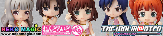 THE IDOLM@STER 2 Stage 01 Nendoroid Petit trading figures by Good Smile Company