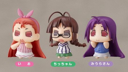 The Idol Master – Character Charm Collection Puchimasu! Io, Chicchan, Miura san by Good Smile Company