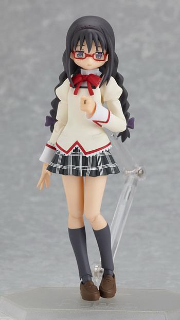 Puella Magi Madoka Magica Homura Akemi figma EX-009 School Uniform ver F//S USED