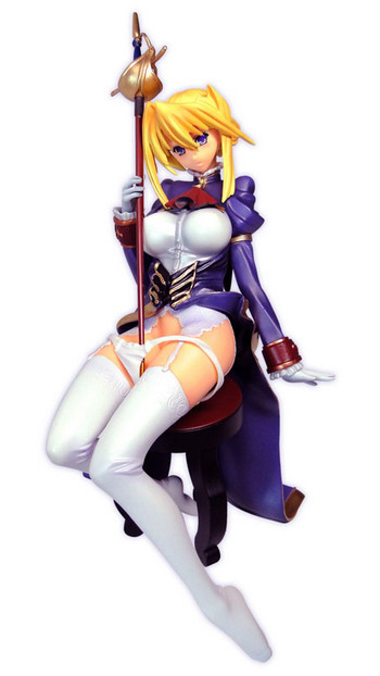 Princess Lover!   Sylvia=Fan Hossen non scale PVC figure by Toy's Planning