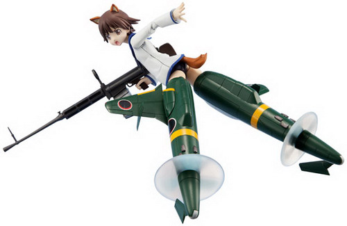 Strike Witches – Miyafuji Yoshika Shinden Equipped Ver. Armor Girls Project non scale action figure by Bandai