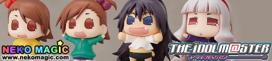 The Idol Master – Character Charm Collection Puchimasu! Koami, Komami, Chibiki, Takanya by Good Smile Company