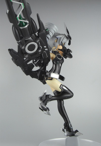 Hyperdimension Neptunia mk2   Black Sister Early Model non scale GK by Spare Tail