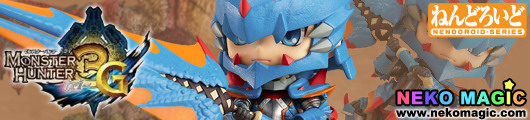 Monster Hunter Tri G – Hunter: Male Swordsman   Lagia X Edition Nendoroid No.266 action figure by Good Smile Company
