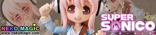Nitro Super Sonic – Super Sonico non scale action figure by Wing