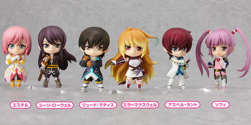 Tales Series Nendoroid Petit trading figure by Good Smile Company