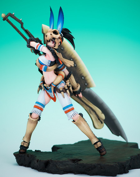 Monster Hunter – Bone Equipment with Bone Axe R 1/6 GK by Cerberus Project