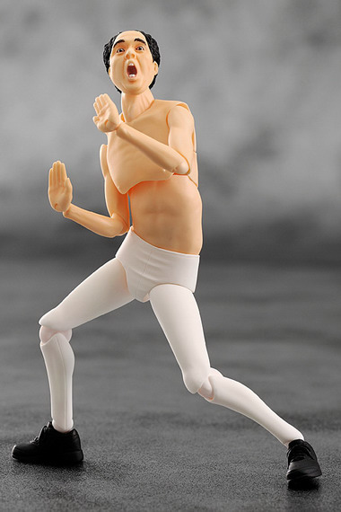 Egashira 2:50 – Egashira White Tights Ver. 2:50 figma EX013 action figure by FREEing
