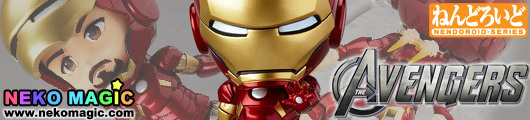The Avengers – Iron Man Mark 7 Hero's Edition No.284 action figure by Good Smile Company