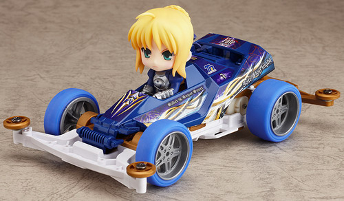 Fate/stay night – Nendoroid Petit x Mini 4WD Saber drives Super Saber Special figure set by Good Smile Company