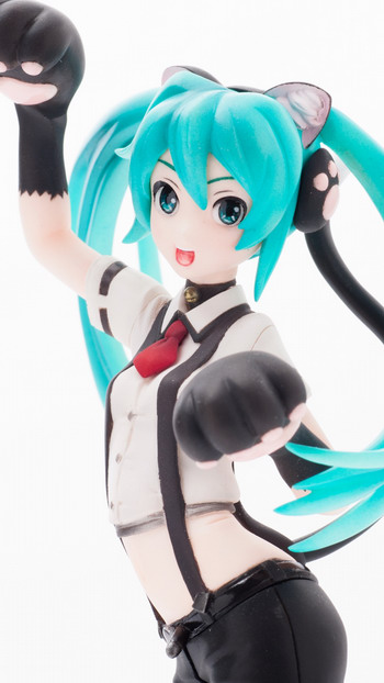 Vocaloid 2 – Hatsune Miku Nyanko 1/8 GK by Jamming Off