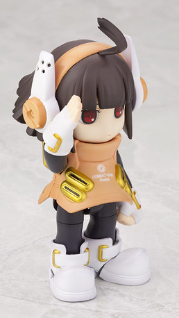 Ichigeki Sacchu!! HoiHoi san LEGACY   Combat san Rookie 1/1 plastic kit by Kotobukiya