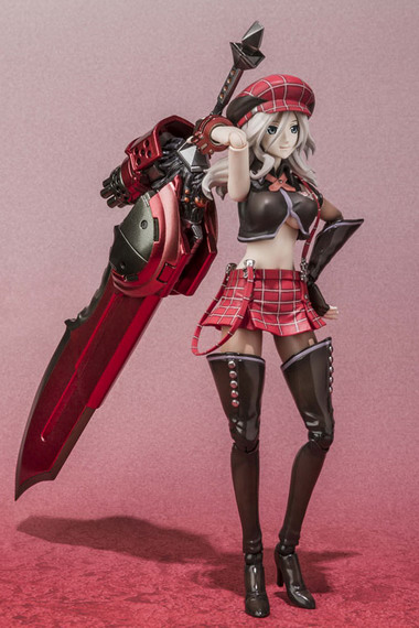 God Eater Burst – D Arts Alisa Ilynichna Amiera action figure by Bandai