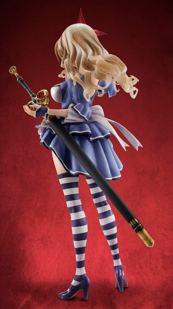 Queens Blade Grimoire – Dark Magician of Wonderland Alicia 1/8 PVC figure by Megahouse