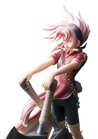Naruto   Haruno Sakura Yomigaeru Sharingan Ver. 1/7 PVC figure by Plex