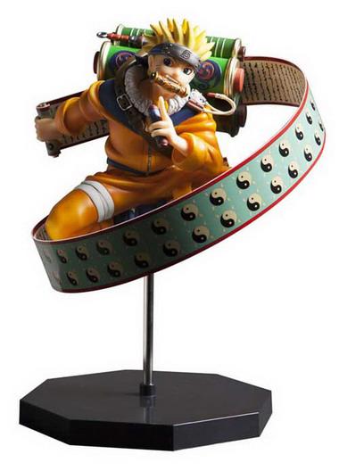 Naruto   Uzumaki Naruto Yomigaeru Sharingan Ver. 1/7 PVC figure by Plex