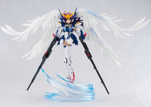 Mobile Suit Girls – MS Girl Wing Gundam Zero EW Ver. Armor Girls Project non scale action figure by Bandai