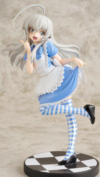 Haiyore! Nyaruko san –Nyaruko Maid outfit Gutto Kuru Figure Collection La beaute 14 non scale PVC figure by CM's Corp.