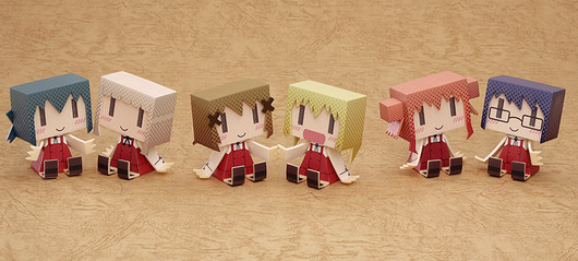 Hidamari Sketch x Honeycomb – graphig++ Hidamari Sketch x Honeycomb trading figure by Good Smile Company