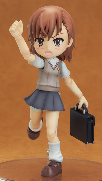 A Certain Scientific Railgun – Misaka Mikoto non scale action figure by Wing