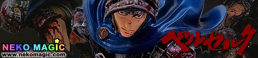 Berserk   Guts The Battle for Doldrey 2013 Special Blue Version 1/10 Polystone figure by Art of War