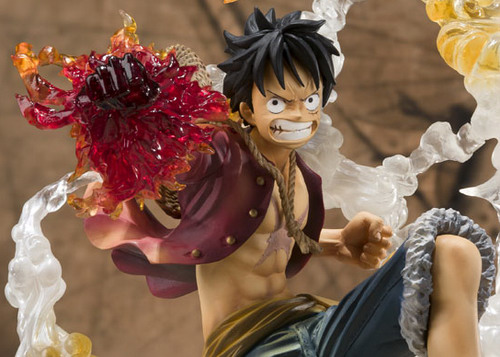 One Piece – Monkey D. Luffy Battle Ver. Gomu Gomu no Red Hawk Figuarts Zero non scale PVC figure by Bandai