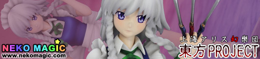 Touhou Project   Maid of the Scarlet Devil Mansion Izayoi Sakuya 1/10 PVC figure by Griffon Enterprises