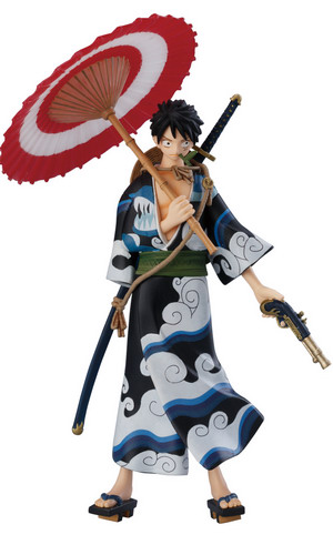 One Piece   Super One Piece Styling EX Kimono Style trading figure by Bandai
