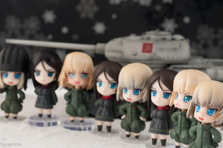 Girls und Panzer – Pravda Set A Deformed Katyusha & Nonna non scale GK by Bronze Circus