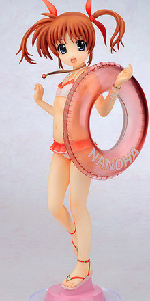 Magical Girl Lyrical Nanoha The Movie 1st – Takamachi Nanoha Swimsuit Ver. 1/4 PVC figure by Gift
